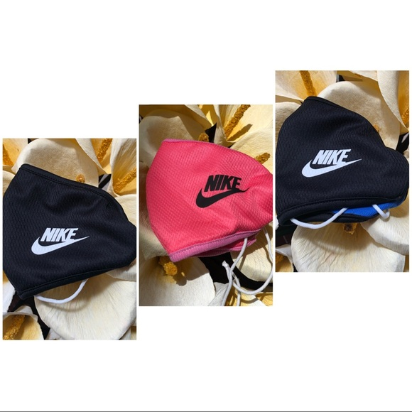 3/$25 Nike Black Pink Double Layered Face …